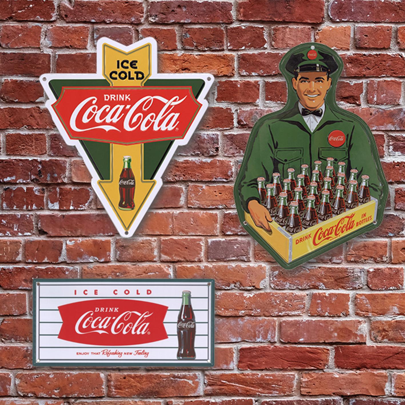 「コカ・コーラ」ティンプレート